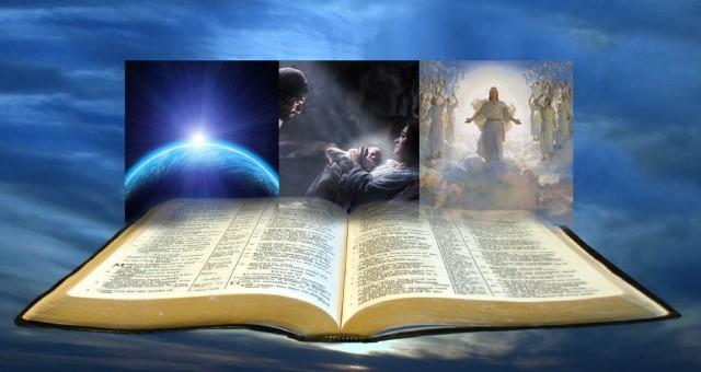Open multi-level bible